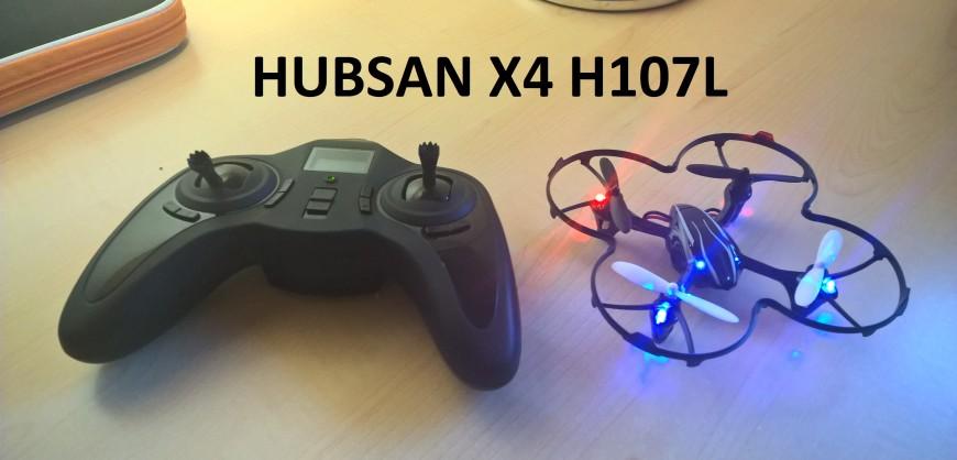 HUBSAN X4 H107L title
