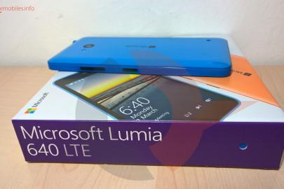 Lumia 640 LTE scatola